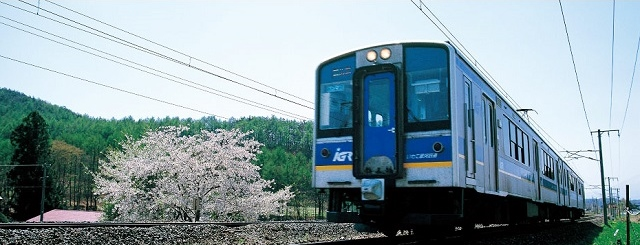 IGR銀河鐵道 GoGoGo  岩手Iwate好好玩